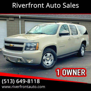 2011 Chevrolet Suburban for sale at Riverfront Auto Sales in Middletown OH