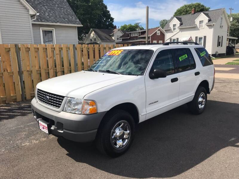 2002 Ford Explorer for sale at PEKIN DOWNTOWN AUTO SALES in Pekin IL