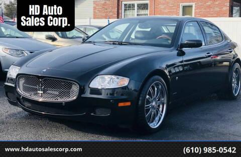 2007 Maserati Quattroporte for sale at HD Auto Sales Corp. in Reading PA