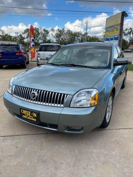 2007 Mercury Montego for sale at Cruze-In Auto Sales in East Peoria IL