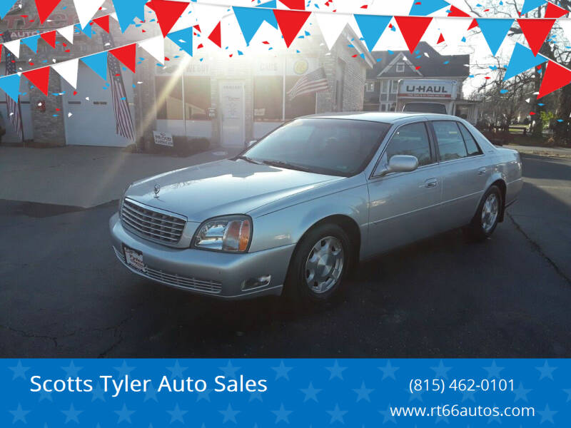 2001 Cadillac DeVille for sale at Scotts Tyler Auto Sales in Wilmington IL