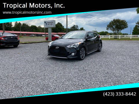 2016 Hyundai Veloster for sale at Tropical Motors, Inc. in Riceville TN