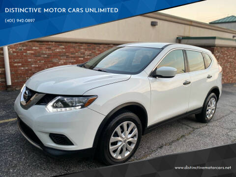 2016 Nissan Rogue for sale at DISTINCTIVE MOTOR CARS UNLIMITED in Johnston RI