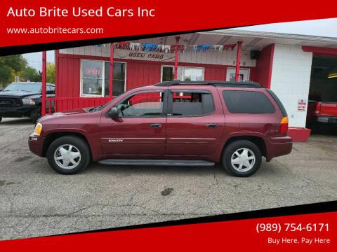2003 GMC Envoy XL for sale at Auto Brite Used Cars Inc in Saginaw MI
