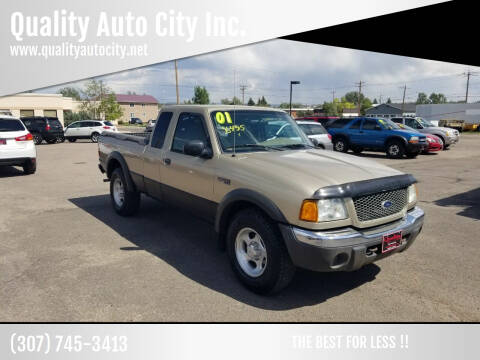 2001 Ford Ranger for sale at Quality Auto City Inc. in Laramie WY