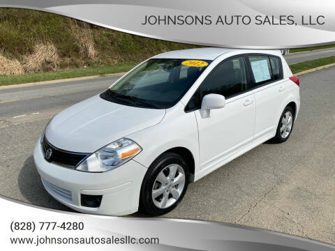 2012 Nissan Versa for sale at Johnsons Auto Sales, LLC in Marshall NC