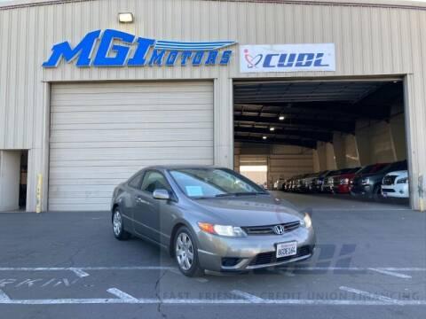2007 Honda Civic for sale at MGI Motors in Sacramento CA