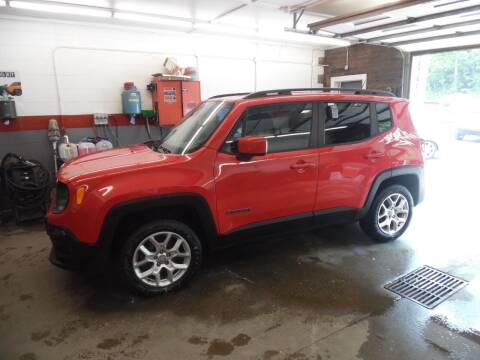 2016 Jeep Renegade for sale at East Barre Auto Sales, LLC in East Barre VT