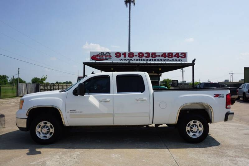 2009 GMC Sierra 2500HD for sale at Ratts Auto Sales in Collinsville OK