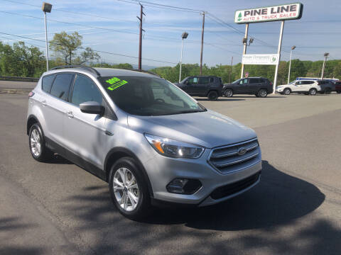 2018 Ford Escape for sale at Pine Line Auto in Eynon PA
