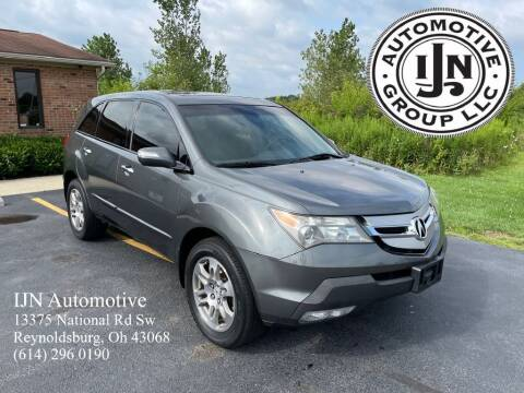 2008 Acura MDX for sale at IJN Automotive Group LLC in Reynoldsburg OH