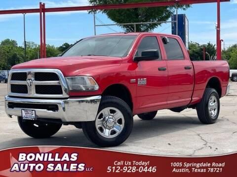 2014 RAM Ram Pickup 2500 for sale at Bonillas Auto Sales in Austin TX