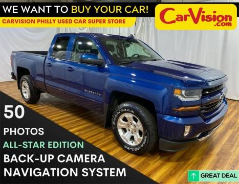 2017 Chevrolet Silverado 1500 for sale at Car Vision Mitsubishi Norristown - Car Vision Philly Used Car SuperStore in Philadelphia PA