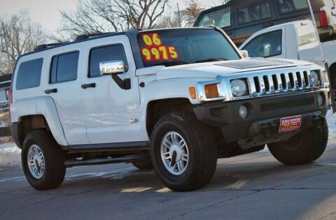 2006 HUMMER H3 for sale at SOLOMA AUTO SALES in Grand Island NE