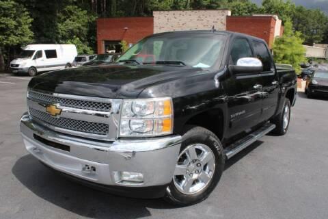 2012 Chevrolet Silverado 1500 for sale at Atlanta Unique Auto Sales in Norcross GA