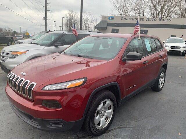 2017 Jeep Cherokee for sale at Lighthouse Auto Sales in Holland MI