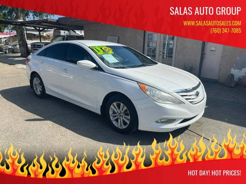 2013 Hyundai Sonata for sale at Salas Auto Group in Indio CA