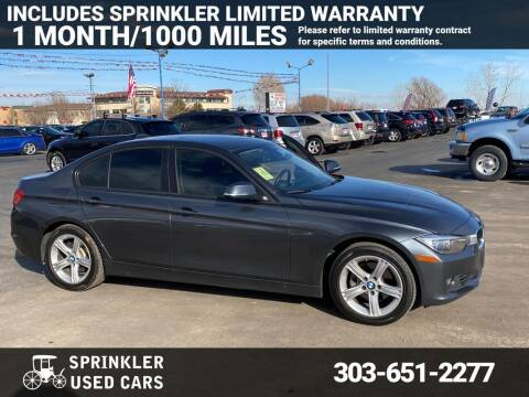 2013 BMW 3 Series for sale at Sprinkler Used Cars in Longmont CO