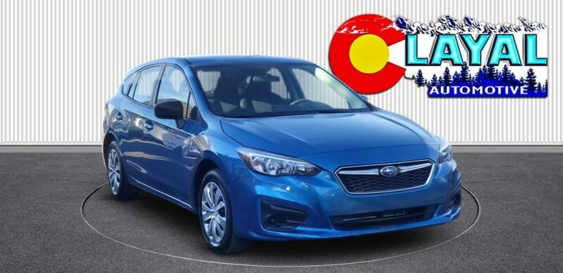 2019 Subaru Impreza for sale at Layal Automotive in Englewood CO