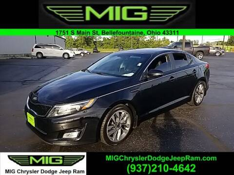 2014 Kia Optima for sale at MIG Chrysler Dodge Jeep Ram in Bellefontaine OH
