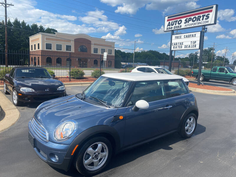 2010 MINI Cooper for sale at Auto Sports in Hickory NC