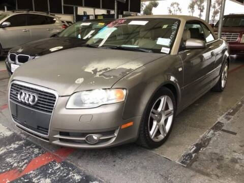 2007 Audi A4 for sale at SoCal Auto Auction in Ontario CA