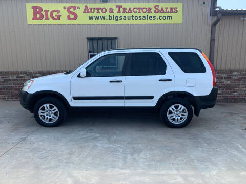 2003 Honda CR-V for sale at BIG 'S' AUTO & TRACTOR SALES in Blanchard OK