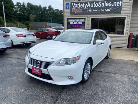 2015 Lexus ES 350 for sale at Variety Auto Sales in Worcester MA