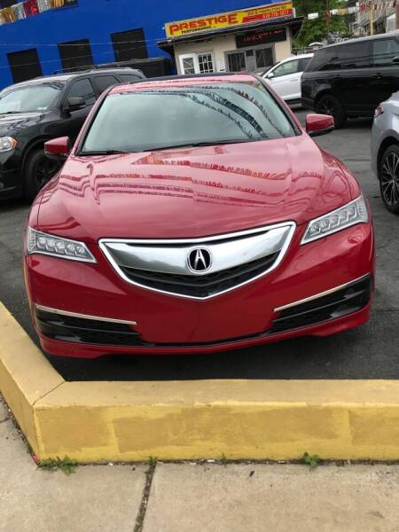 2017 Acura TLX for sale at PRESTIGE PERFORMANCE in Allentown PA