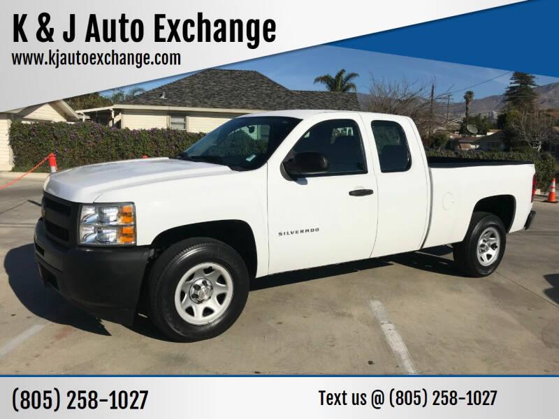 2012 Chevrolet Silverado 1500 for sale at K & J Auto Exchange in Santa Paula CA