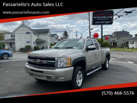 2009 Chevrolet Silverado 1500 for sale at Passariello's Auto Sales LLC in Old Forge PA