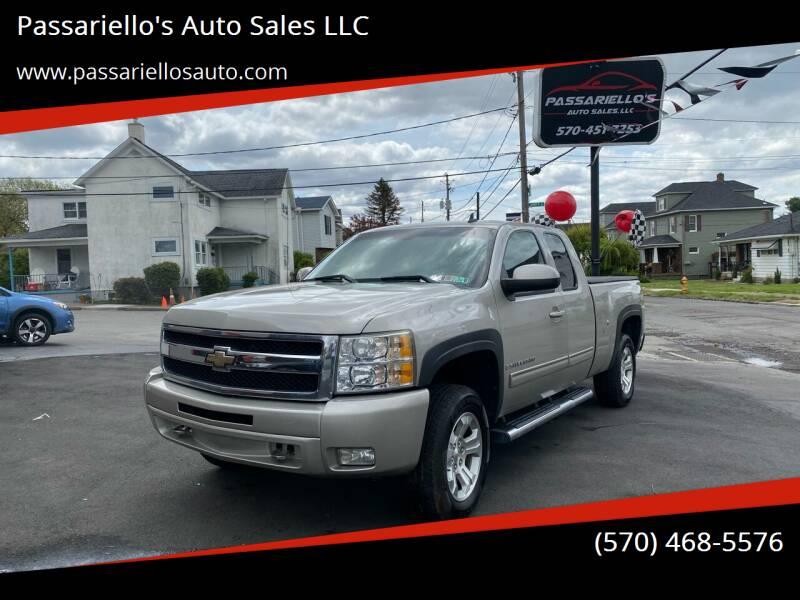 2009 Chevrolet Silverado 1500 for sale at Passariello's Auto Sales LLC in Old Forge PA