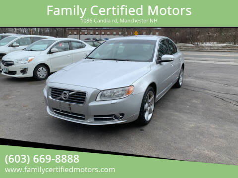 2010 Volvo S80 for sale at Family Certified Motors in Manchester NH