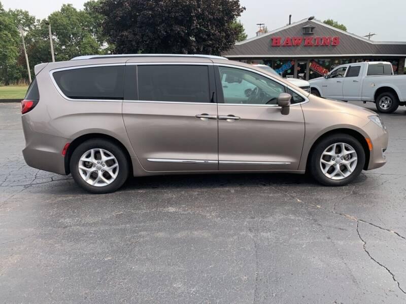 2018 Chrysler Pacifica for sale at Hawkins Motors Sales in Hillsdale MI
