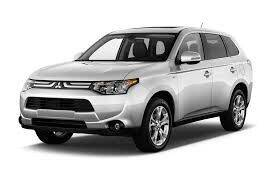 2014 Mitsubishi Outlander for sale at LAKE CITY AUTO SALES in Forest Park GA