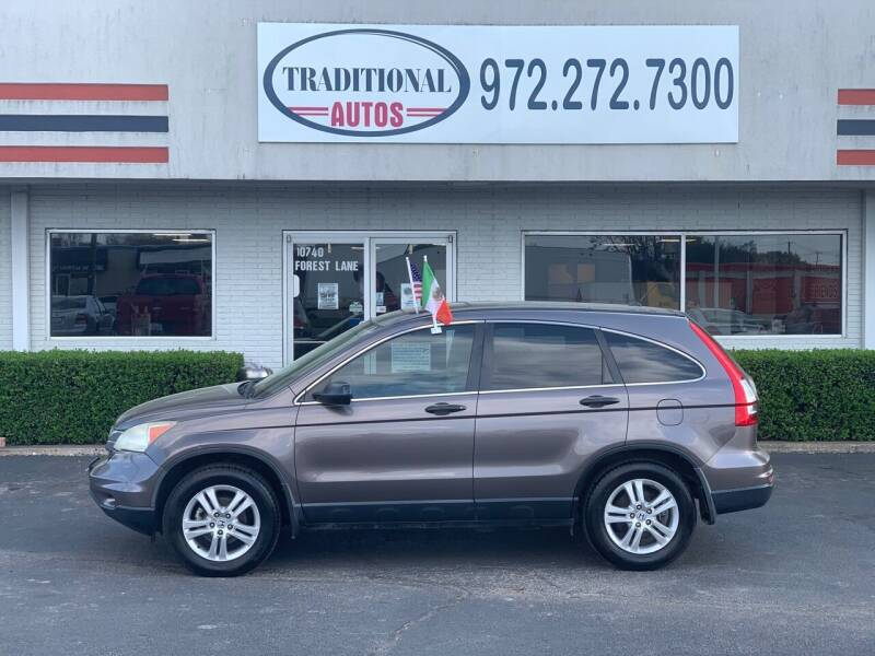 2010 Honda CR-V for sale at Traditional Autos in Dallas TX