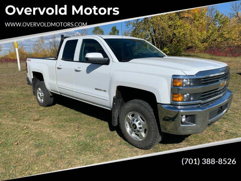 2015 Chevrolet Silverado 2500HD for sale at Overvold Motors in Detriot Lakes MN