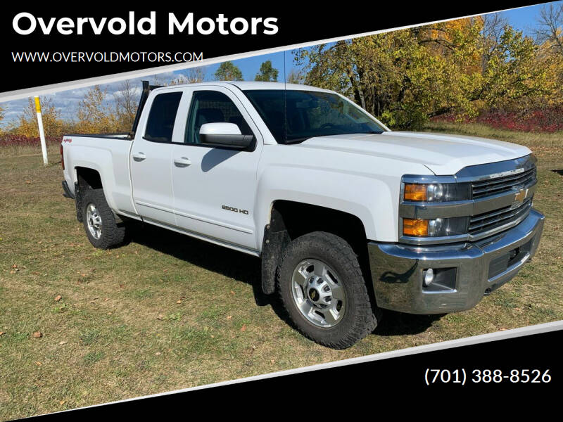 2015 Chevrolet Silverado 2500HD for sale at Overvold Motors in Detriot Lakes MN