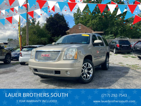 2007 GMC Yukon for sale at LAUER BROTHERS SOUTH in York PA