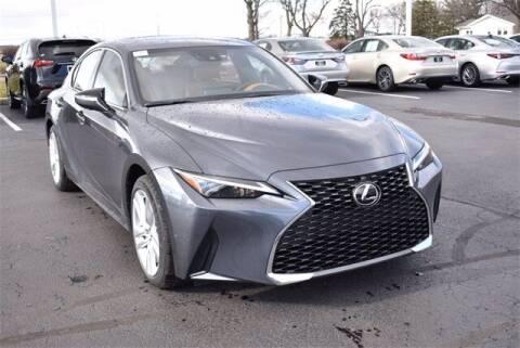 2021 Lexus IS 300 for sale at BOB ROHRMAN FORT WAYNE TOYOTA in Fort Wayne IN