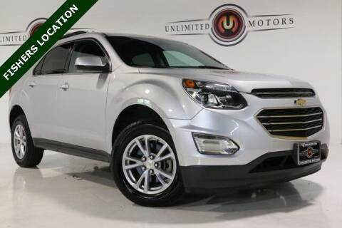 2017 Chevrolet Equinox for sale at Unlimited Motors in Fishers IN