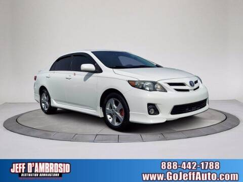 2012 Toyota Corolla for sale at Jeff D'Ambrosio Auto Group in Downingtown PA