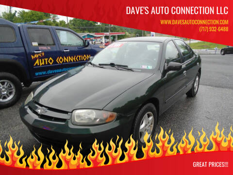 2004 Chevrolet Cavalier for sale at Dave's Auto Connection LLC in Etters PA