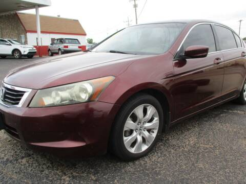 2008 Honda Accord for sale at Sunrise Auto Sales in Liberal KS