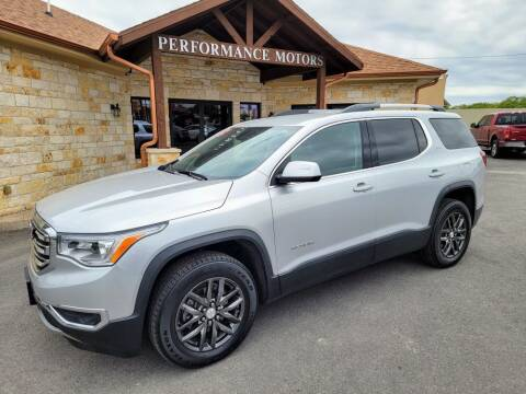 2018 GMC Acadia for sale at Performance Motors Killeen Second Chance in Killeen TX