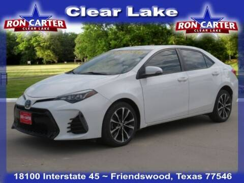 2019 Toyota Corolla for sale at Ron Carter  Clear Lake Used Cars in Houston TX