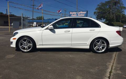 2014 Mercedes-Benz C-Class for sale at Bobby Lafleur Auto Sales in Lake Charles LA
