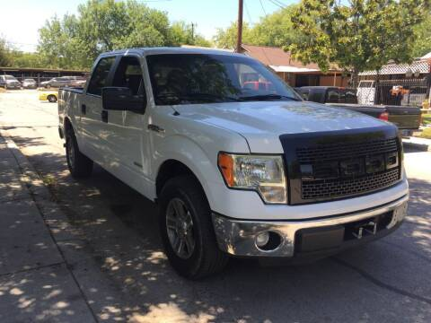 2013 Ford F-150 for sale at Carzready in San Antonio TX