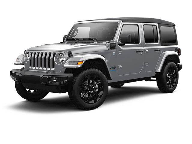 2021 Jeep Wrangler 4xe for sale at West Motor Company in Preston ID