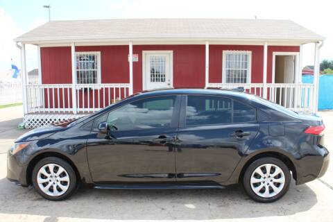 2020 Toyota Corolla for sale at AMT AUTO SALES LLC in Houston TX